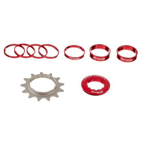 REVERSE Single Speed Kit ombouwset