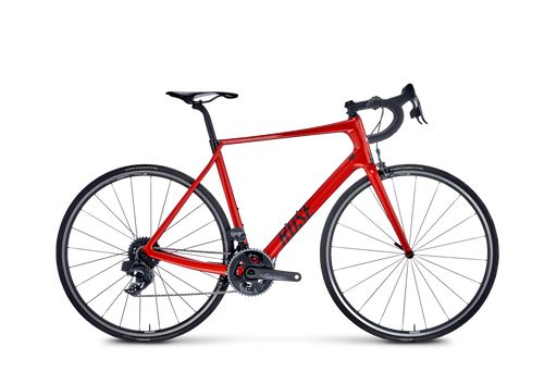 TEAM GF FOUR Red eTap AXS showroommodel maat: 59cm